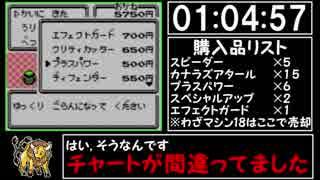 ポケモン赤RTA ケンタロスチャート part4/