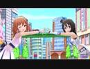 【デレステMAD】 Flip Flop ~For SS3A rearrange Mix~ 【荒木比奈 上条春菜】