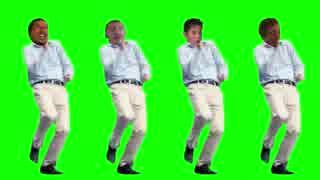 楽しく踊る先輩たちGB