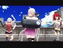 【MMD】夢盛りカルイアとオネでMelody Line【爆乳】