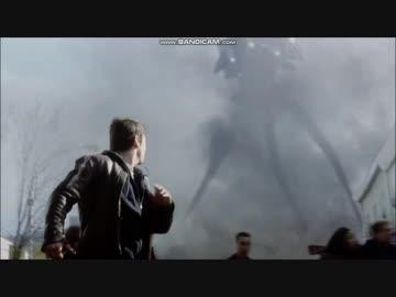 宇宙戦争 トライポッド出現シーン