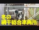 網干総合車両所のさまざまな列車たち。