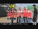 【プレミアテニスイズム】テニ助&テニ男テニスリアリティーショー⑩代打テニ男!対多人数シングルス強化練習【ニコニコ動画】