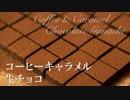 コーヒーキャラメル生チョコ【お菓子作り】ASMR 手作りバレンタインチョコ