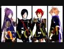 【MMD刀剣乱舞】極短刀で「REVOLVER」【不動/薬研/後藤/信濃】