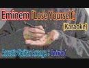 【ニコカラ】Eminem「Lose Yourself」【アコギ多重録音アレンジ】