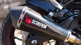 YZF-R3 SCORPION 排気音 スコーピオン