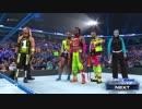 WWE.SmackDown.コフィ&ジェフ&AJ VS ジョー&オートン&DB