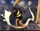 【コスプレ】鬼太郎親子で結ンデ開イテ羅刹ト骸踊ってみた