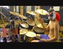 【マリオドラム】スーパーマリオブラザーズ1から3メドレーを激しく叩いてみた!