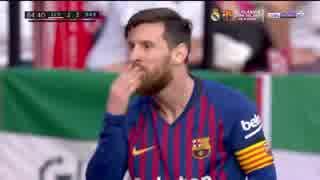 《18-19ラ・リーガ:第25節》 セビージャ vs バルセロナ