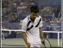 【テニス】1991年 US Open  マイケル・チャン vs ジョン・マッケンロー【名勝負】【ニコニコ動画】