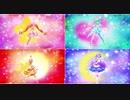 【1080p】スター☆トゥインクルプリキュア 4人同時変身【四重唱】
