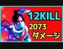 【PS4】APEXLegends なんだかんだレイスに戻ってくるんだよね 12KILL 2073DMG WINS【CS】