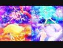 【1080p】スター☆トゥインクルプリキュア 4人変身比較ver 60FS化