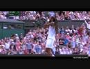【テニス】ラファエル・ナダル vs ダスティン・ブラウン - ウインブルドン 2015 2回戦【ニコニコ動画】