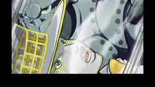ジョジョの奇妙な冒険DU 英語吹替版 第26話 Ability: winning in roshambo makes my opponent's energy my own