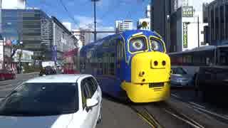 【岡山】チャギントンの路面電車見てきた