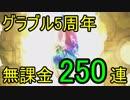 【グラブル】5周年グラフェス250連(2019年3月)【天井】