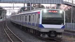 ひたち野うしく駅(JR常磐線)を通過・発着する列車を撮ってみた