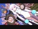 【MMD対魔忍】ふうま小太郎と七瀬舞でオツキミリサイタル【1080p】