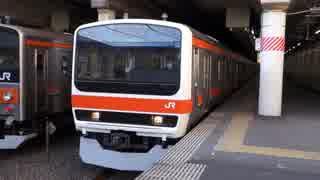 新八柱駅(JR武蔵野線)を発着する列車を撮ってみた
