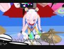 結月ゆかり  UFO 【 ピンク・レディ 】Ranaがドラムを叩いて歌います。
