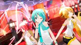 【MMD】あぴミクさん達に『桃源恋歌』を踊って頂きました【1080p】【カメラ配布あり】