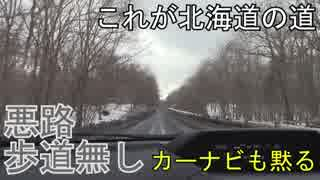 【仲間とスノボ・スキー#02】これが北海道の道!一般道なのに高速並でボコボコ道【北海道ニセコアンヌプリ国際スキー】【蒼い世界の歩き方】