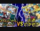 【ポケモンカード】わんにゃんジュゴンビートvs王者ピカゼク!【対戦動画】