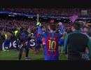messi メッシ UEFA 100 GOAL ゴール