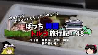 【ゆっくり】韓国トルコ旅行記 48 最終回 関西空港へ