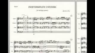 【弦楽四重奏アレンジ】INDETERMINATE UNIVERSE【ケムリクサED】