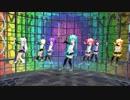 【MMD】ちびあぴちゃん達に『ミキミキ★ロマンティックナイト』踊って貰いました【ままま式】