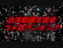 自演動画支援者コメ数ランキング【12周年】