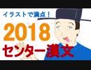 【イラストで満点!】2018センター漢文
