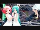 【MMD】あぴミクさんとあぴテトさんで『Satisfaction』【1080p】【カメラ配布あり】