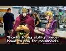 【ジョジョMAD】無駄親子がマクドナルドに行くそうです。