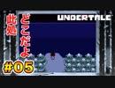 前情報なしで【Undertale_switch版】実況 part.05