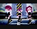 【MMDスプラトゥーン】空多野式8号達でボーダーランズ!