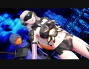 【MMD対魔忍】ふうま小太郎と獅子神自斎でGLIDE【1080p】