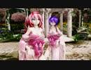Ray MMD(MMD悠々杯)【SNOBBISM】 Tda式改変 重音テト 紫音美菜  Japanese Kimono
