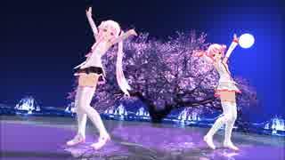 【MMD】あぴミクさんとあぴテトさんで『えれくとりっく・えんじぇぅ』【桜ネギドリル】【カメラ配布あり】