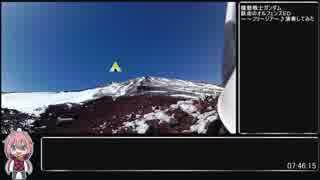 【RTA】ゆるふわ厳冬期富士山リアル登山アタック(後編)【07:46:15】