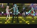 【MMD】Telll Your World ひとま式 初音ミク リオ ブラックロックシューター