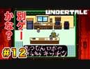 前情報なしで【Undertale_switch版】実況 part.12