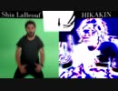 Shia LaBeouf VS HIKAKIN 激戦林檎ボイパ対決 Bad Apple!!【ボイパ対決五周年合作単品】