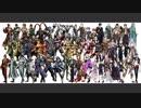 【人力混合】中の人が同じ25組、53人+1匹でBad Apple!! 【刀剣/三ムソ/戦バサ】