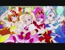 【声無しストーリー】 「美男高校地球防衛部LOVE!」VS「GO!プリンセスプリキュア」 変身シーン
