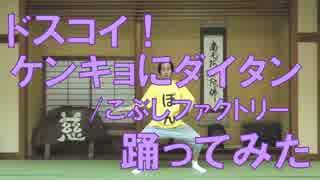 【実家で】ドスコイ!ケンキョにダイタン/こぶしファクトリー踊ってみた【ぽんでゅ】